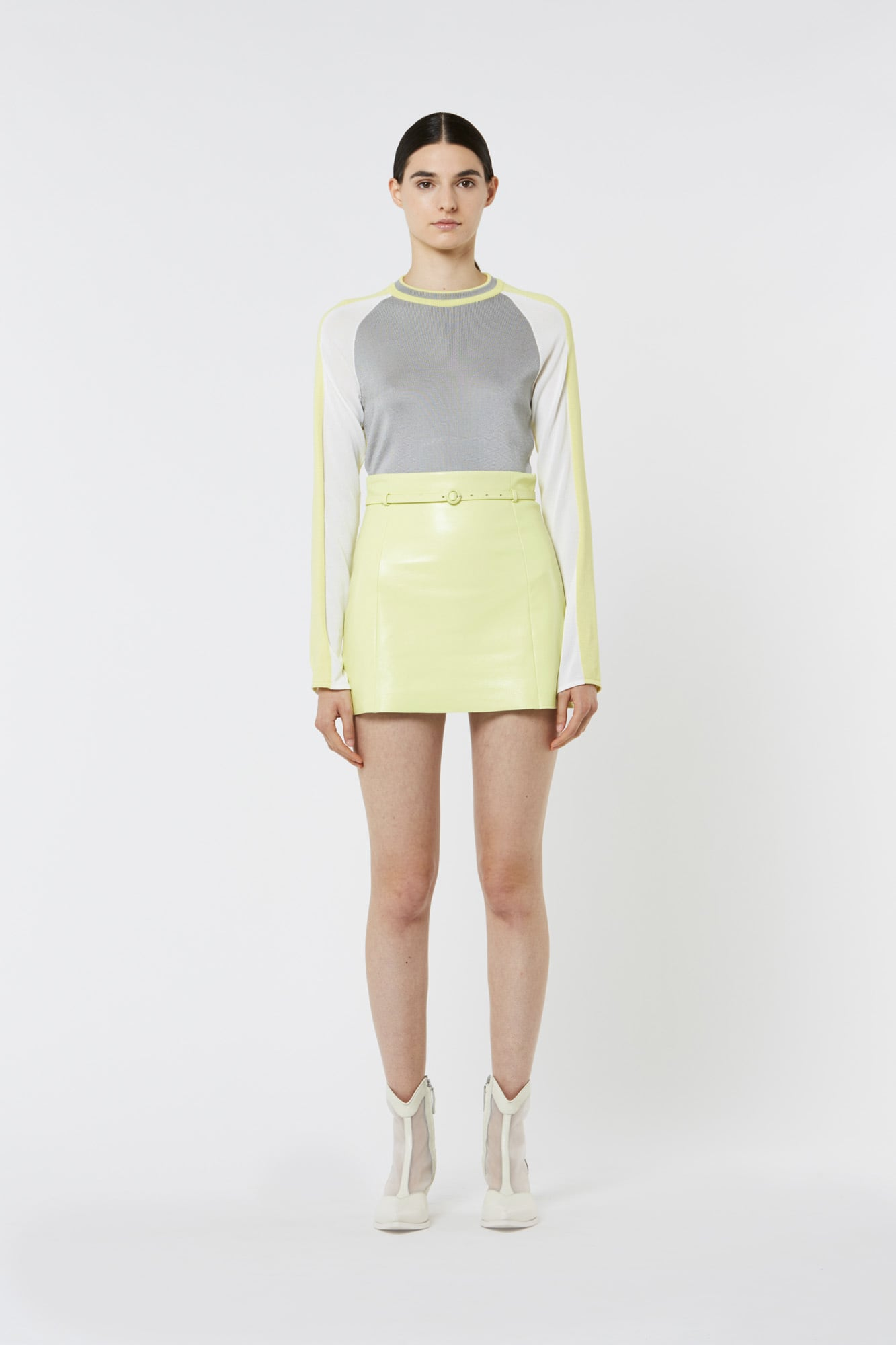 Technical Fabric Long Sleeved Top