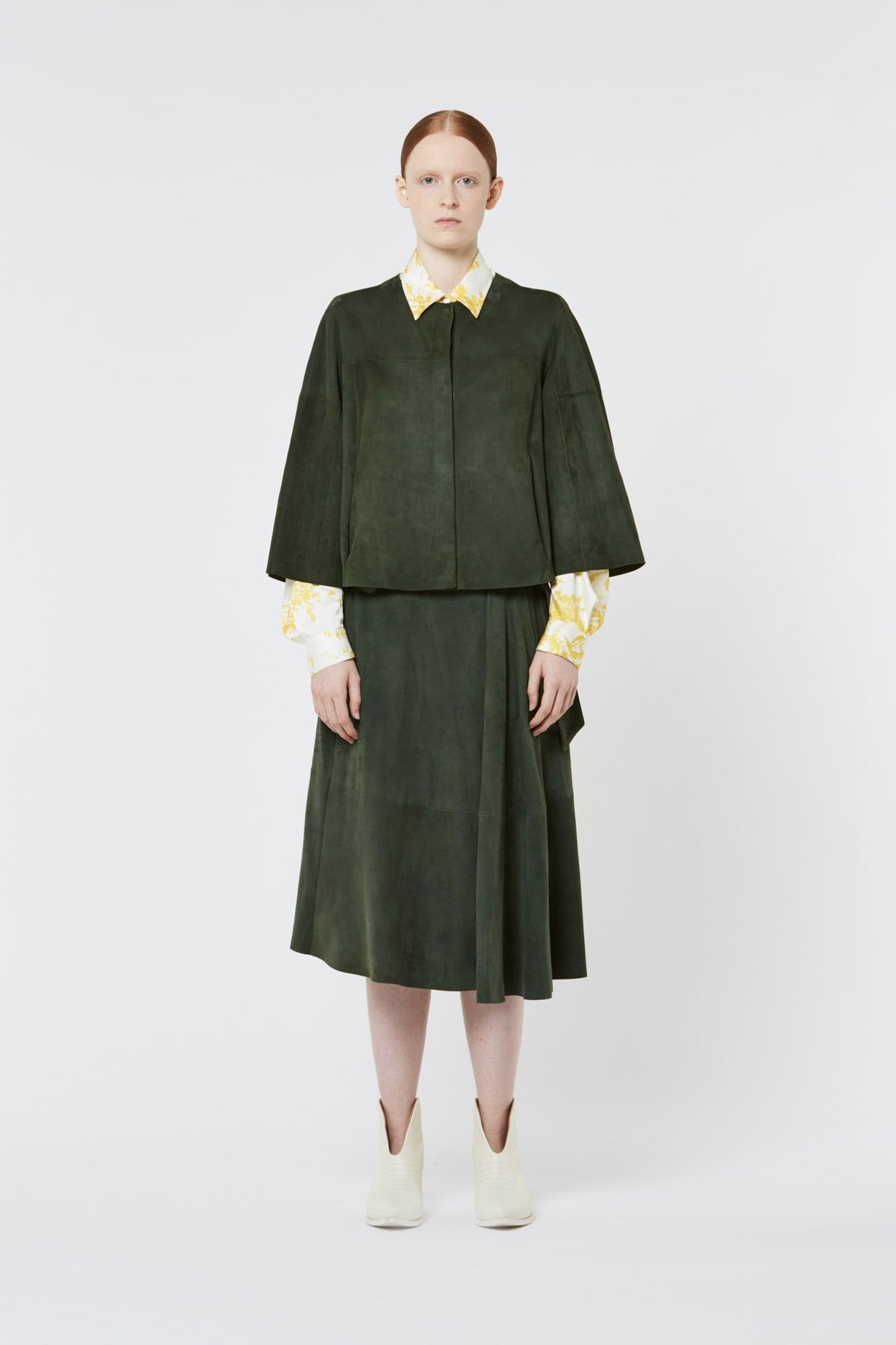 Green Suede Jacket
