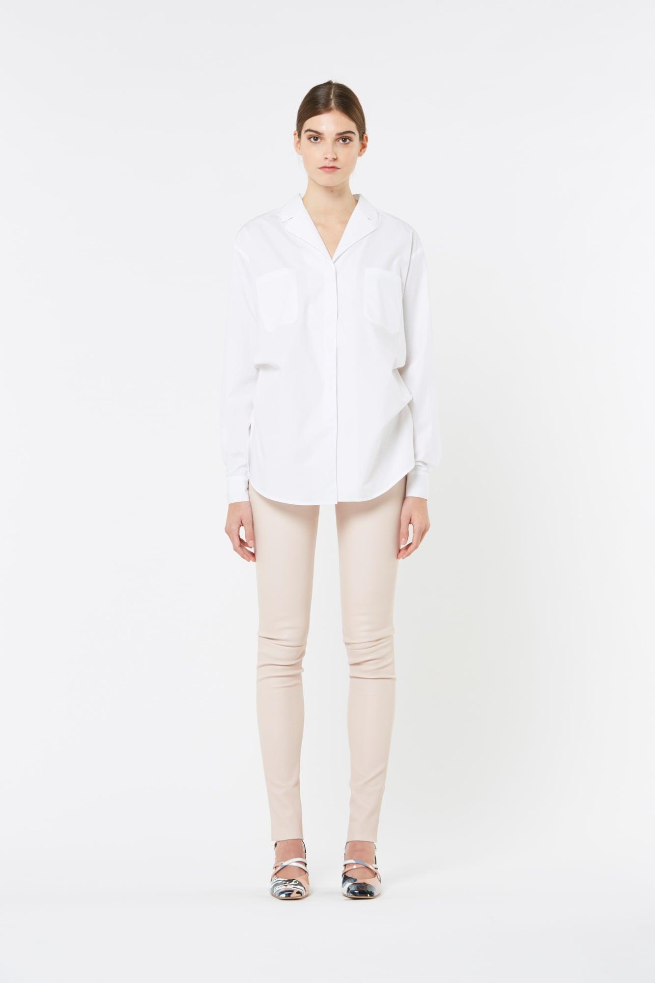 White Paper Popeline Shirt